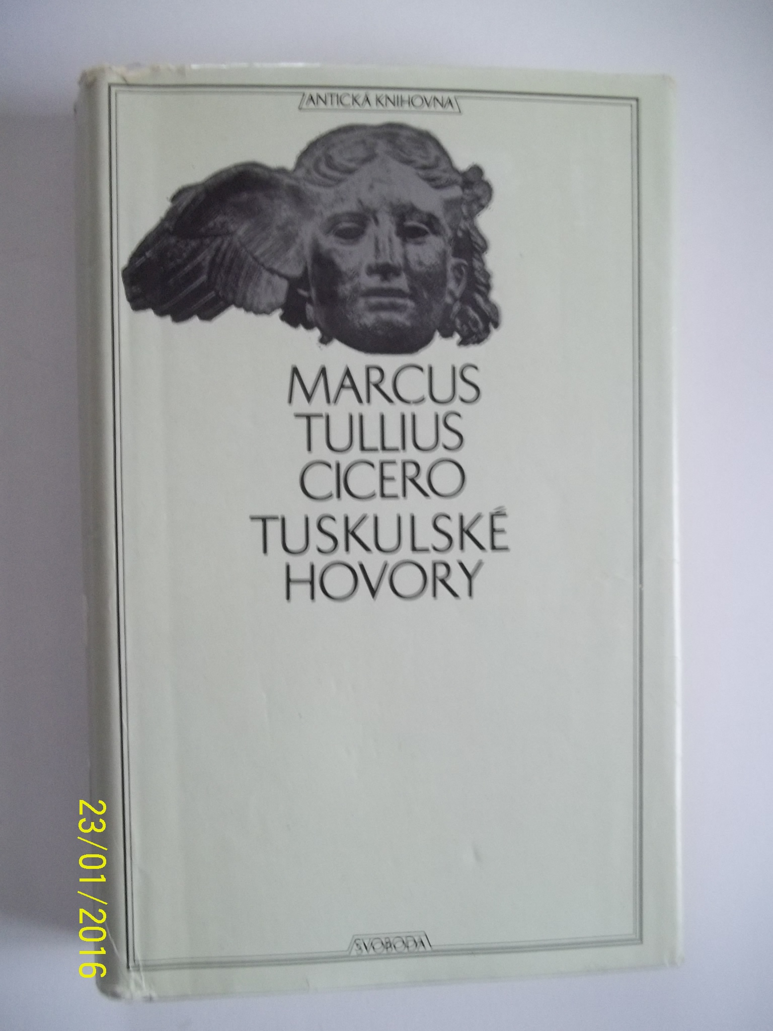 zobrazit detail knihy Cicero, Marcus Tullius: Tuskulské hovory