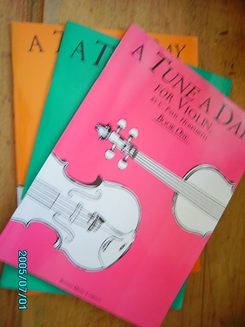 zobrazit detail knihy Herfurth : A Tune a Day  for Violin 1-3